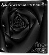 Explore Create Express Acrylic Print