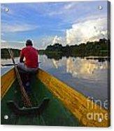 Exploring Amazonia Acrylic Print