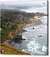 Exploring The Oregon Coast Acrylic Print