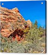 Exploring The Upper Plateau Of Zion Acrylic Print