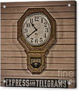 Express And Telegrams Acrylic Print