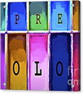 Express Color Acrylic Print