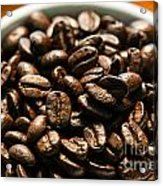 Expresso Beans Acrylic Print