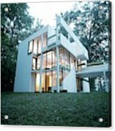 Exterior Of Mr. And Mrs. Jay Hanslemann's Acrylic Print