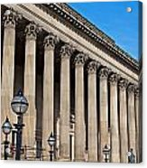 Exterior Of St Georges Hall Liverpool Uk Acrylic Print
