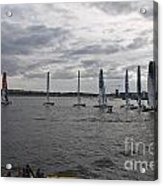Extreme 40 At The Start Acrylic Print