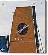 Extreme 40 Sail Detail Acrylic Print