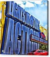Extreme Stunt Show 1 Acrylic Print