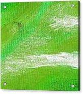 Exuberant Emerald Green Acrylic Print