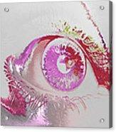 Eye 3 Acrylic Print by Soumya Bouchachi