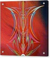 Eye Flying Acrylic Print