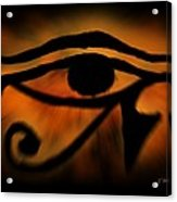 Eye Of Horus Eye Of Ra Acrylic Print