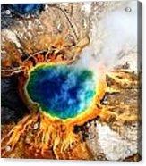 Eye Of The Earth Acrylic Print