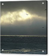 Eye Of The Storm On The San Mateo County Coast Acrylic Print