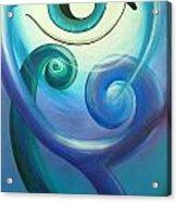 Eye Triple Koru Acrylic Print