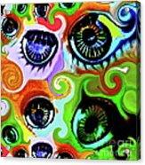 Eyecandy Acrylic Print