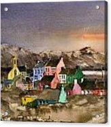 Eyeries Village Beara West Cork Acrylic Print