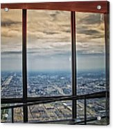 Eyes Down From The 103rd Floor Looking South Acrylic Print