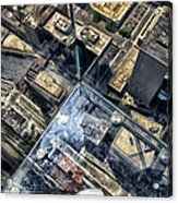 Eyes Down From The 103rd Floor One Small Step Acrylic Print