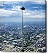 Eyes Down From The 103rd Floor The View From The Ledge Acrylic Print