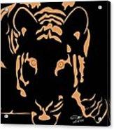 Eyes Of A Tiger 3 Acrylic Print
