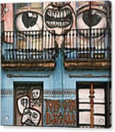 Eyes Of Barcelona Acrylic Print