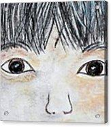 Eyes Of Love Acrylic Print