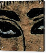 Eyes Of The Ancient Egyptian Musician Acrylic Print