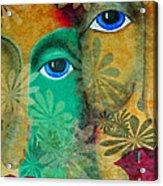 Eyes Of The Beholder Acrylic Print