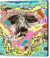 Eyes Sculp Acrylic Print