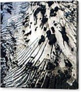 Eyjafjallajokull Glacier And Ashes Acrylic Print