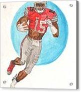 Ezekiel Elliott Ohio State Buckeyes Acrylic Print