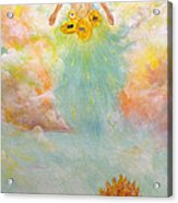 Ezekiel Revisited Acrylic Print by James  Andrews