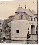 Ezelport City Gate In Bruges Acrylic Print