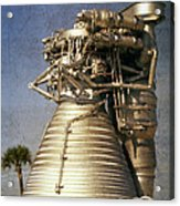 F-1 Rocket Engine Acrylic Print