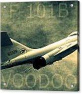 F-101b Voodoo Acrylic Print