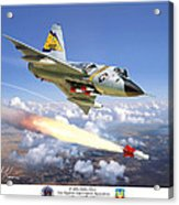 F-106 Delta Dart 5th Fis Acrylic Print