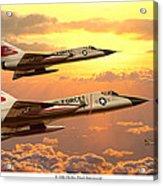 F-106 Delta Dart Intercept Acrylic Print
