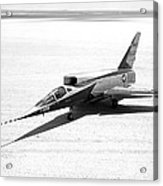 F-107a Airplane, Nasa Testing, 1959 Acrylic Print