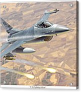 F-16 Fighting Falcon Acrylic Print