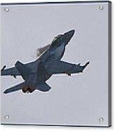 F-18 Super Hornet Vortices  Acrylic Print