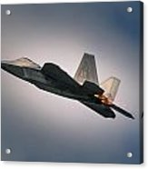 F-22 Acrylic Print