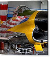 F-86 D Acrylic Print