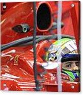 F1 Driver Felipe Massa Acrylic Print
