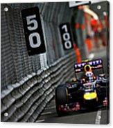 F1 Grand Prix Of Monaco Acrylic Print
