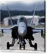 F18 Hornet 002 Acrylic Print