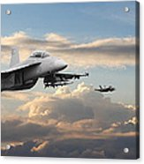 F18 - Super Hornet Acrylic Print