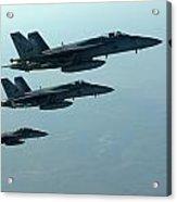 F18e Super Hornet  Acrylic Print