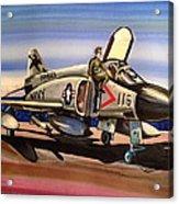 F4 Phantom Acrylic Print