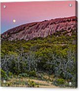 F8 And Be There - Enchanted Rock Texas Hill Country Acrylic Print